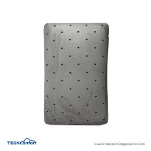 Almohada Dual Memory Foam Infusión Gel Y Carbón - 2 En 1