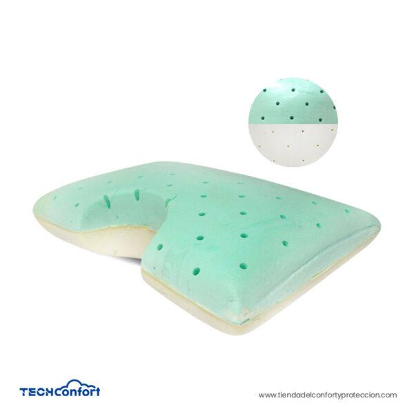 Almohada Dual Memory Foam Y Viscoenergética – 2 En 1
