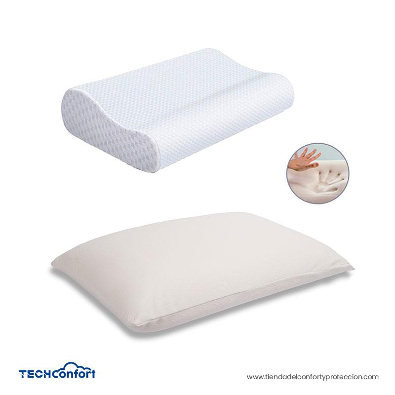 Almohada Memory Foam – Combo Clásica Y Cervical Tipo Suaves