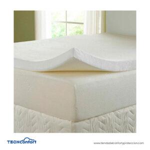 Colchoneta Memory Foam Viscoelástica - Grande King Size